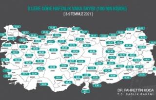 Antalya'da korkutan Covid-19 artışı