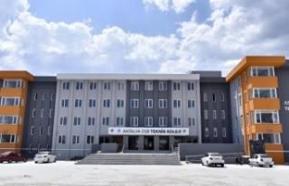 Antalya OSB Teknik Koleji yeni eğitim-öğretim yılına...