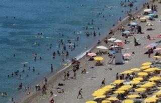 Antalya'da 100 bin kişide görülen vaka sayısında...