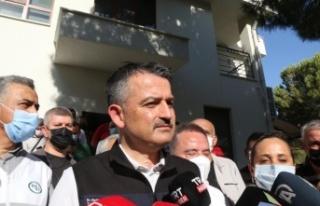 "Bakan Pakdemirli: ""Manavgat'taki yangında..."