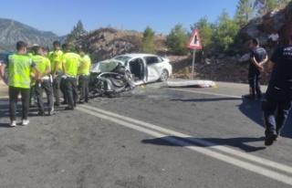 Feci kaza: 2 ölü, 5 yaralı var