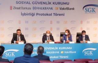SGK ile bankalar arasında yapılan anlaşmayla emekli...