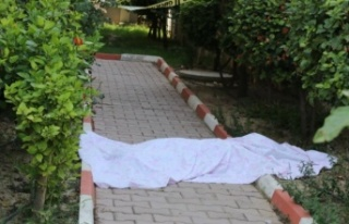 Sitenin bahçesinde ölü bulundu