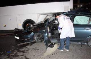 Tatile gelen gurbetçi genç trafik kazasında can...