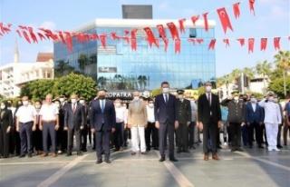 30 Ağustos Zaferi Alanya'da törenle kutlandı