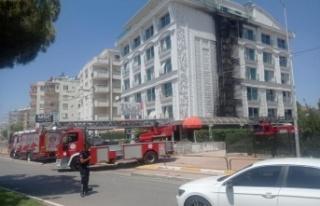 5 yıldızlı otelde yangın çıktı, müşteriler...