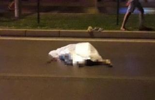 Alanya'da motosikletin çarptığı turist hayatını...