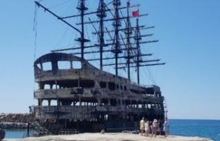 Alanya'da yanan teknelerde korkunç bilanço