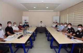 Alanya Spor Güvenlik Kurulu toplandı