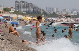 Antalya'da nem yüzde 90'a ulaştı, vatandaşlar...