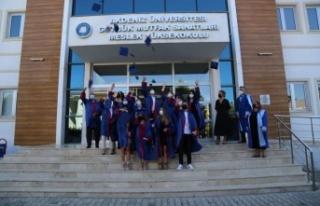 AÜ'de 8 fakülte ve 10 MYO çevrim içi mezuniyet...