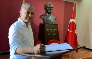 Başkan Uysal Kuzey Makedonya'da Manastır Askeri...