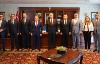 Böcek Ankara'da THK işbirliği ön protokol...