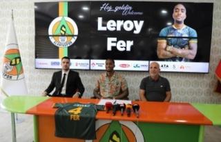 Leroy Fer Aytemiz Alanyaspor'da