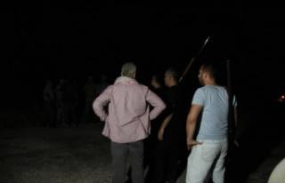 Manavgat'ta otellere yakın noktada yangın çıktı,...