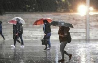 Meteorolojiden Antalya'nın 7 ilçesine yağmur...