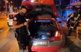 Alanya'da gürültü yapan araçlara ceza yağdı