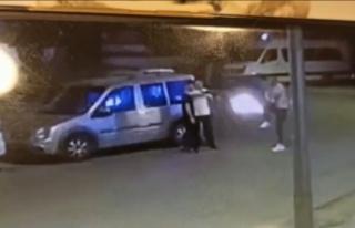 Alanya'da pompalı tüfekli kız kavgası kamerada