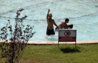 Alanya'da yangın havuzunda ölü bulundu
