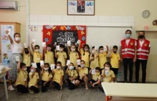 Alanya'daki öğrencilere 12 bin dezenfeksiyon...