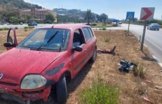 Alanya İyi Parti'de kaza şoku