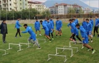 Alanya Kestelspor'un maç programı belli oldu