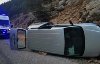 Alanya'nın yaylasında korkutan kaza