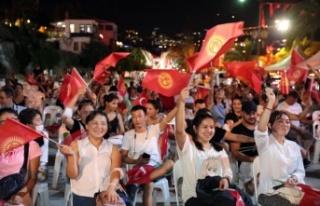 Alanya'da Kırgızistan'ın 30. Bağımsızlık...