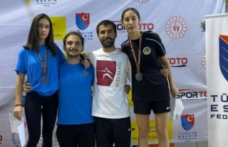 Alanyaspor, Ankara'dan 3 madalya ile döndü