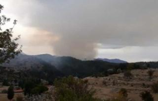Aynı bölgede ikinci yangın çıktı