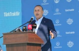 """Bakan Çavuşoğlu: """"Bu işin ciddiyetini biraz..."""