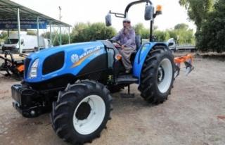 Büyükşehir'den çiftçilere 'Güvenli Traktör...