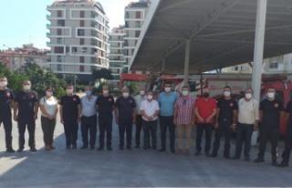 CHP'den Alanya İtfaiye Müdürü Çelik'e...