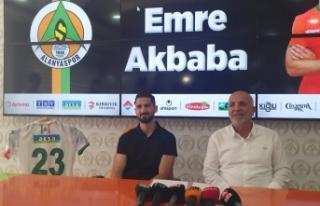 Emre Akbaba yine yeniden Alanyaspor'da