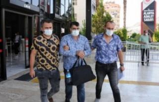 Kasten öldürme şüphelisi Alanya'da tutuklandı
