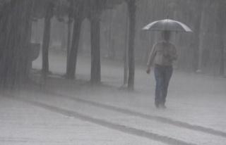 Kuvvetli sağanak yağış uyarısı
