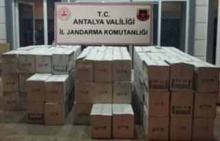 Otelde bin 498 litre kaçak içki ele geçirildi