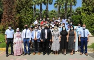 """Rektör Özkan: """"Yabancı öğrenciler tanıtım..."""