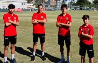 U15 Milli Takım seçmelerine Alanya'dan 4 futbolcu...