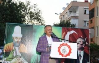 """Vali Yazıcı: """"Anadolu'muzdaki farklı kültür..."""