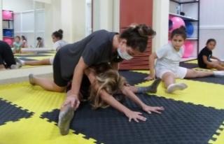 Alanya'da cimnastiğe olan ilgi arttı