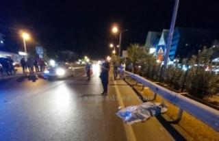 Alanya'da feci kaza: 1 ölü, 1 ağır yaralı...