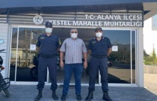 Alanya'da muz ve avakado hırsızlarına karşı...