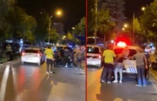 Alanya'daki sokak kavgasına polis müdahalesi