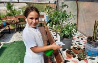 Alanyalı öğrencilerden kuraklığa çözüm projesi