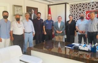 CHP'den Emniyet Müdürü Patat'a ziyaret