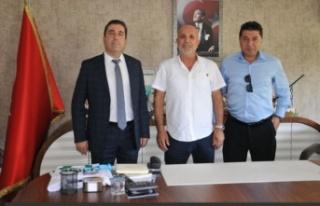 Kaymakam ve emniyet müdürlerinden Alanyaspor'a...