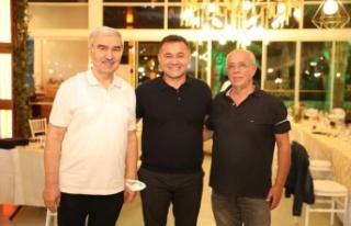 Alanya'nın son 3 belediye başkanını buluşturan...