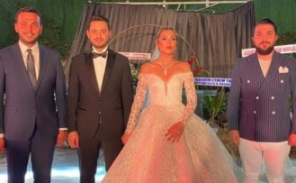 Alanya'da Ak Parti'nin üst yöneticileri bu düğüne akın etti
