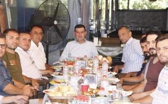 Alanya MHP esnafla buluşmaya devam ediyor
